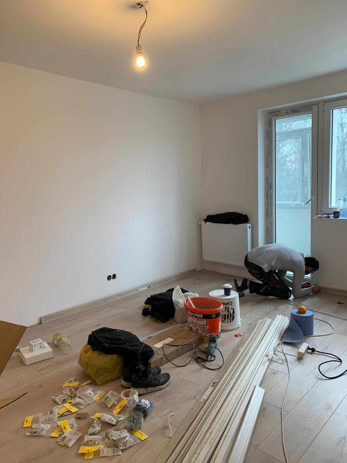 Firma de renovare si amenajare apartament cu 2,3,4 camere